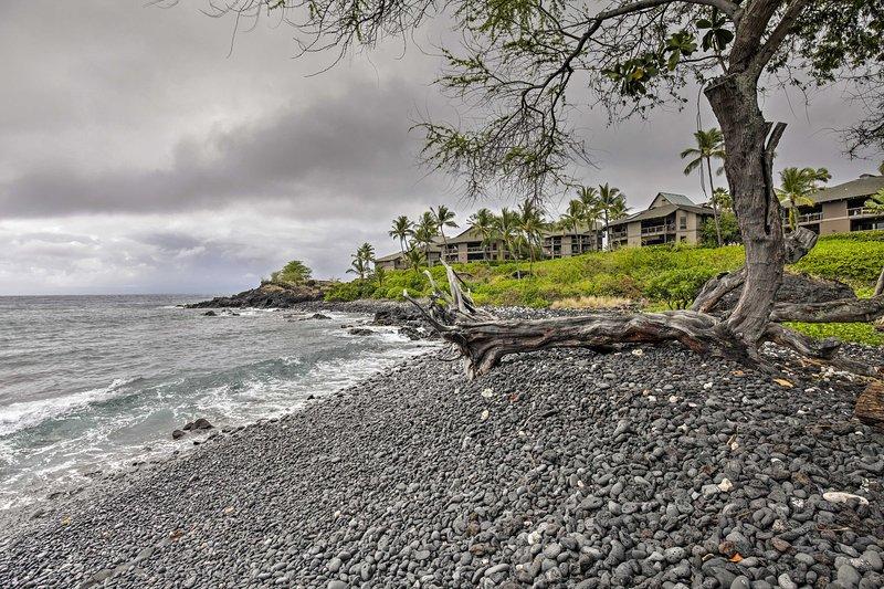 Trempez vos orteils dans le Pacifique rafraîchissant l'océan!