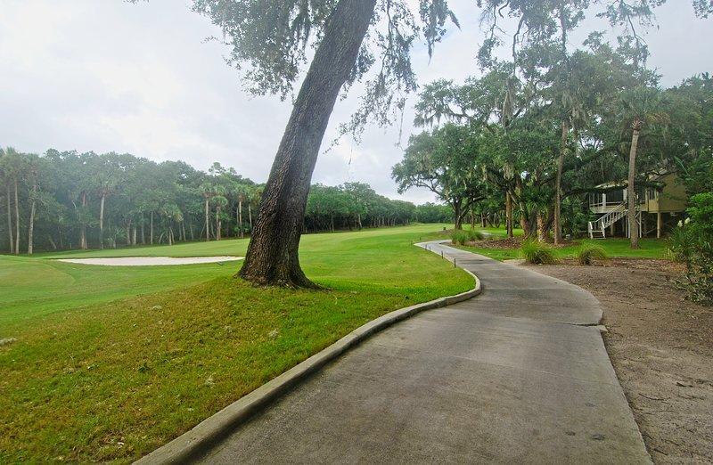 Die schönen Links Crooked Oak Golf Course.
