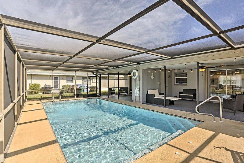 Mit einem gemeinsamen, solarbeheizten Pool, diese Unterkunft sorgt für einen unvergesslichen Aufenthalt!