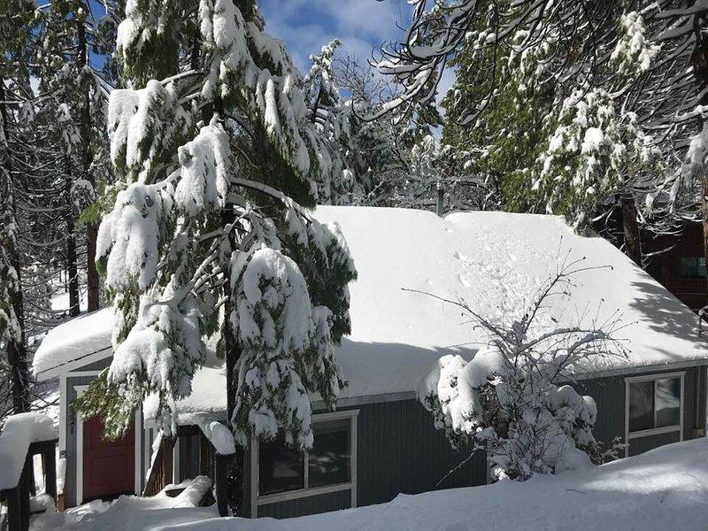 Mars 2018 chutes de neige épique. Le plus beau jamais hiver!