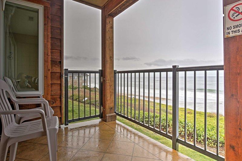 Encontrar a serenidade neste 2 quartos, condomínio de 2 casas de banho férias.