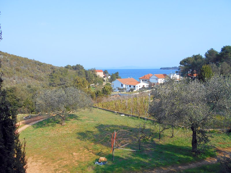 Comfortable apartment with a view, 100m2, 150m from sea, holiday rental in Luka