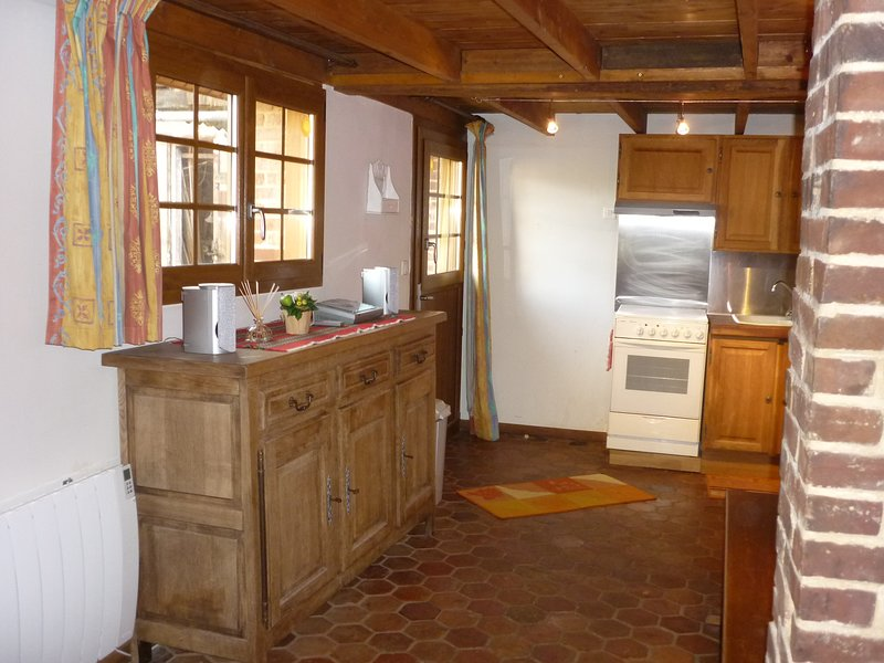 Nice house with terrace & Wifi, holiday rental in Criel-sur-Mer