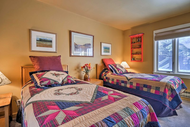 Handmade quilts offer the warm and comforting atmosphere of home.