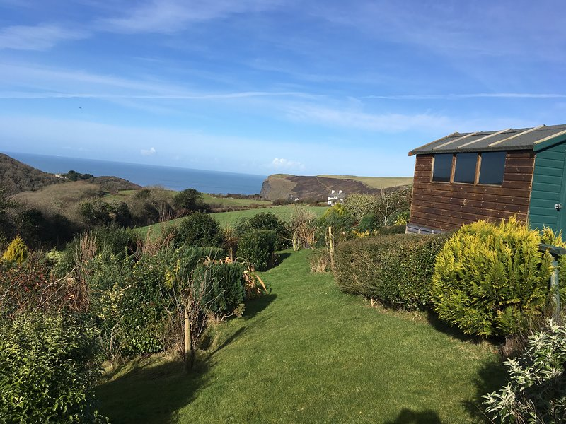 Stunning views out to sea and across Crackington Haven
