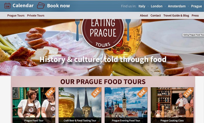 We offer 10% discount for excellent  'foodie tour'