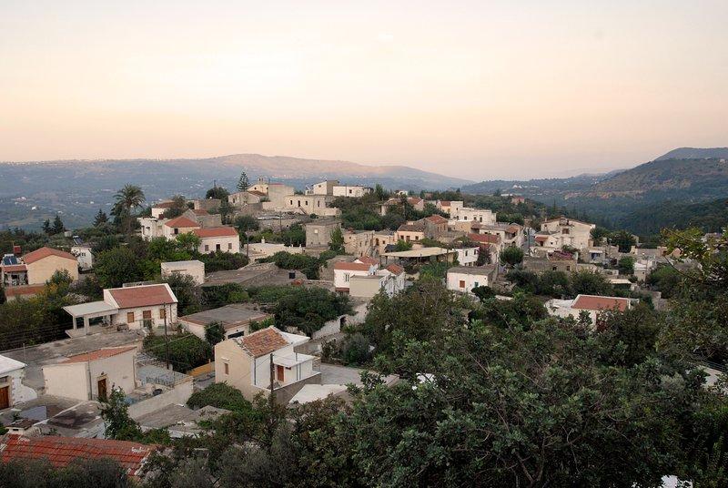 Vista panorámica del pueblo