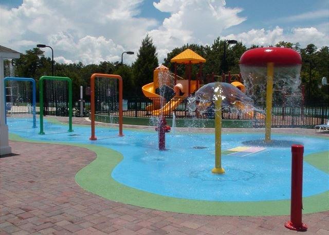niños Splash Pad