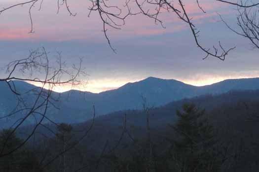 Vista delle Smoky Mountains in Preziosa Vista