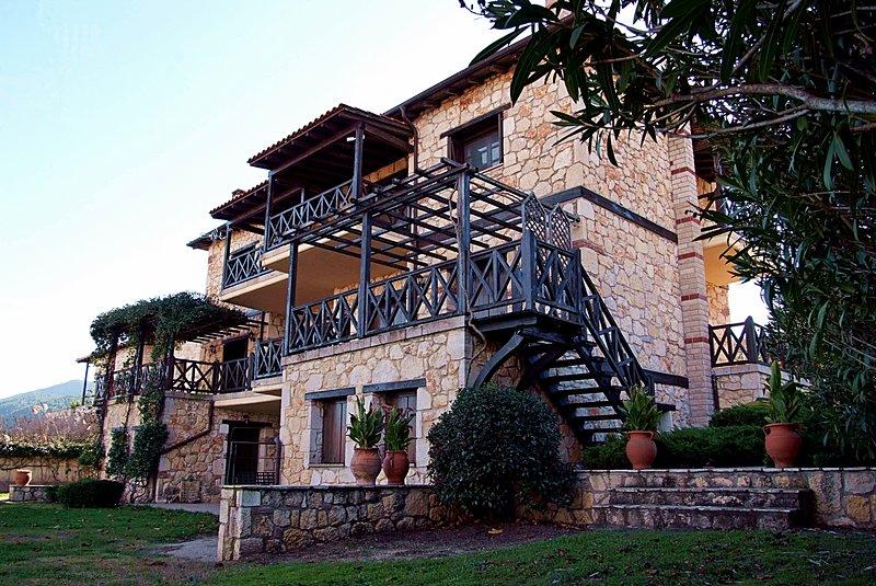 Stone Villa Rokosini volta jardim