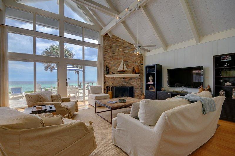 Beachfront Gulf Views from Azure!