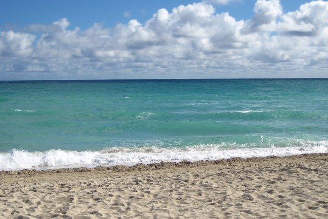 curta distância até o oceano