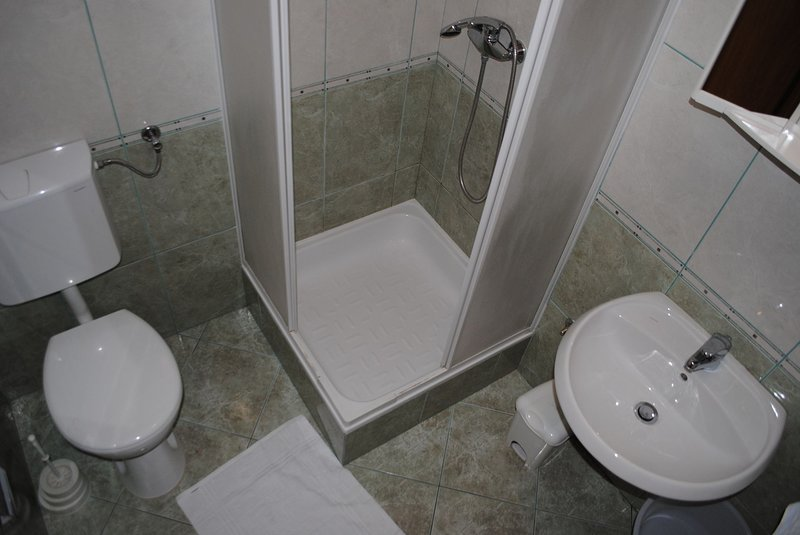 A4(2+2): bathroom with toilet