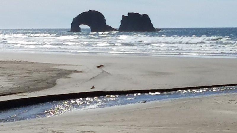 rochas gêmeas ver a partir de casa