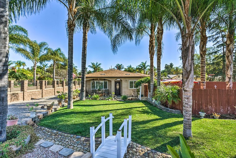 Discover the charm of Fallbrook from this vacation rental home!