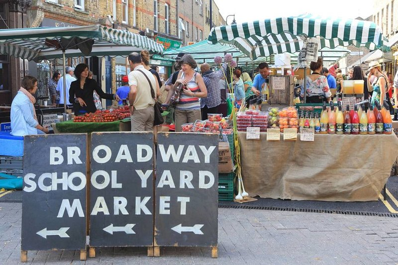 Or the famous Broadway Market.