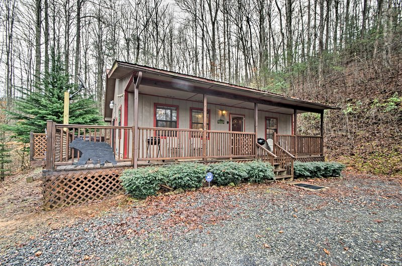 Discover your next retreat at 'Cherokee Wind Walker!'