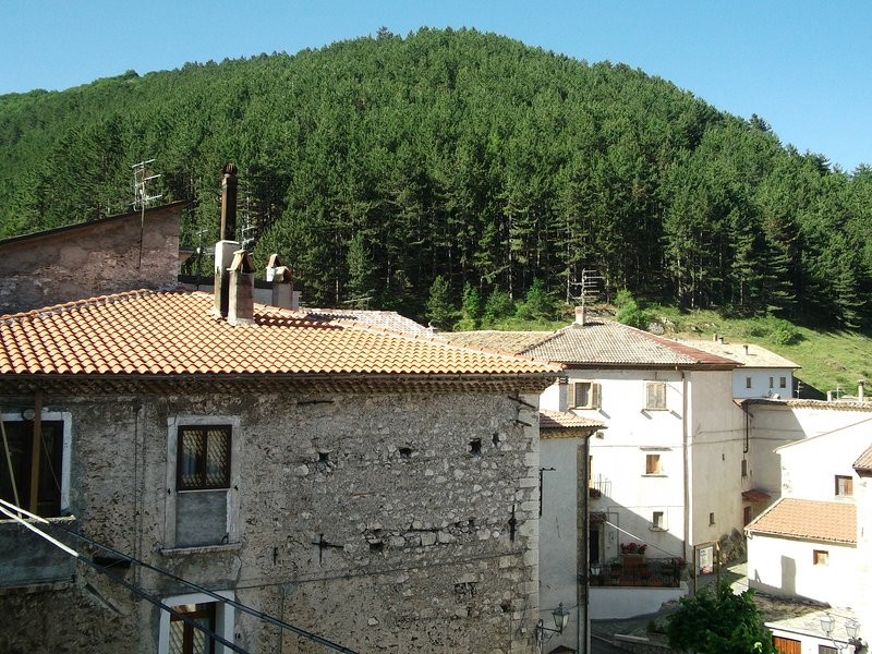 Spacious house with terrace & Wifi, holiday rental in Balsorano