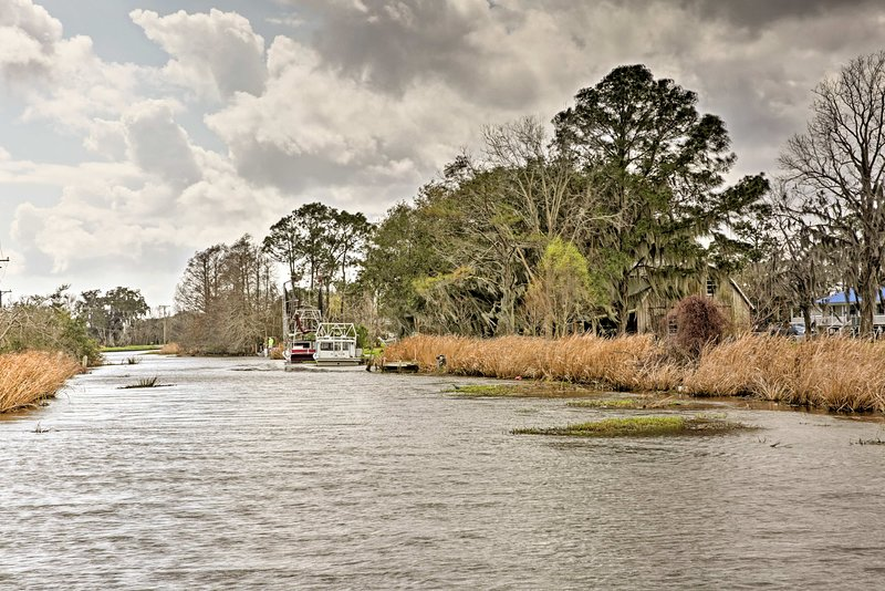 Experience the beauty of the Terrebonne Parish during your Louisiana getaway!
