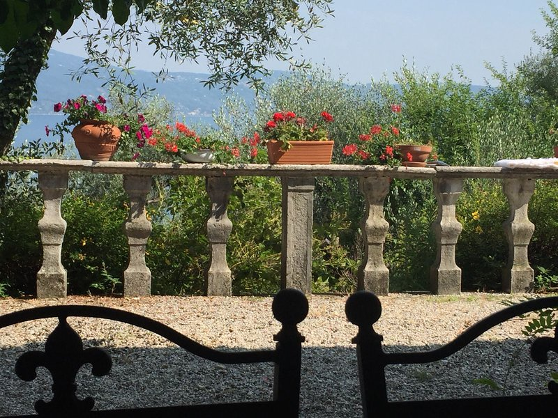Amazing house with swimming-pool, holiday rental in Gargnano