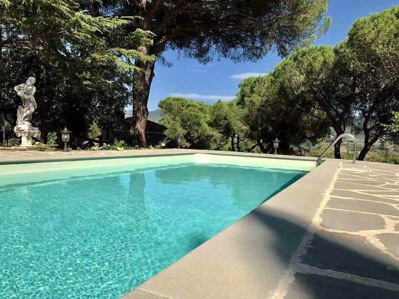 Big villa with swimming-pool & Wifi, holiday rental in Santa Firmina