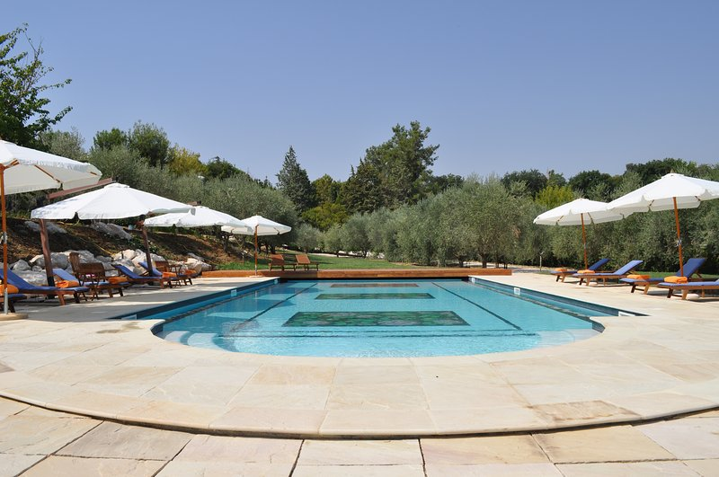 Amazing villa with shared pool, location de vacances à Fratte Rosa