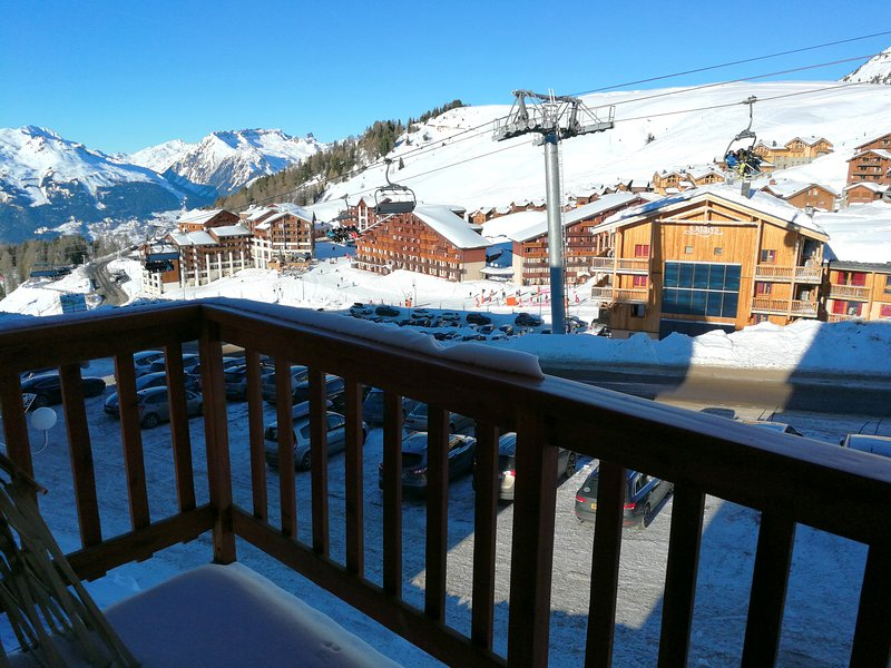 Studio - 10 m from the slopes, vacation rental in Macot-la-Plagne
