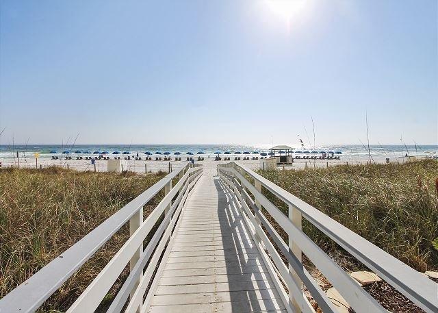 Twin Palms Beach Boardwalk