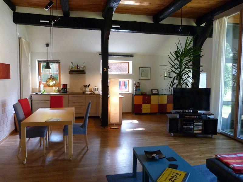 Im Wendland zur Ruhe kommen. Im alten Fachwerkhaus in Kröte N.: 5, location de vacances à Waddeweitz