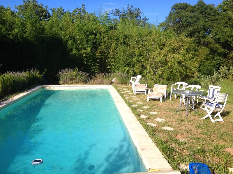 Nice house with pool access, holiday rental in Les Mayons