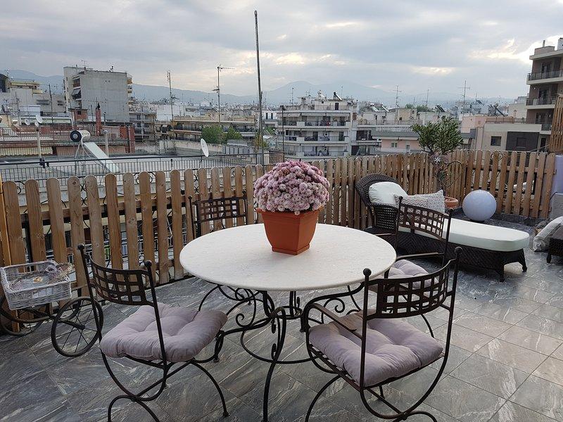 Beautiful apartment with balcony, holiday rental in Vasilika