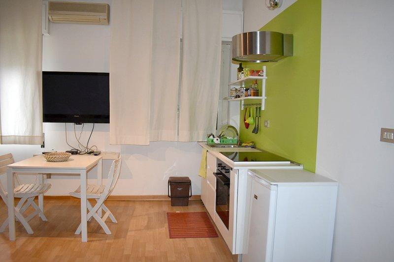 Beautiful studio with balcony, alquiler vacacional en Landro