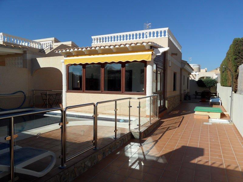 Casa Elena  2 bed villa with airco, WIFI, private pool, ideal for families, holiday rental in San Juan de los Terreros