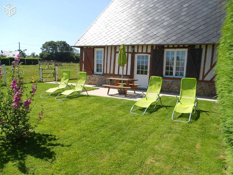 Amazing house with garden & terrace, holiday rental in Brionne