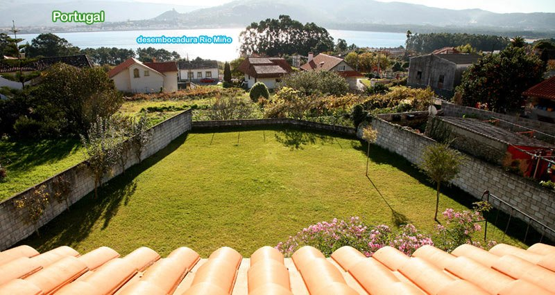 Spacious house with sea view & Wifi, vacation rental in Pontevedra