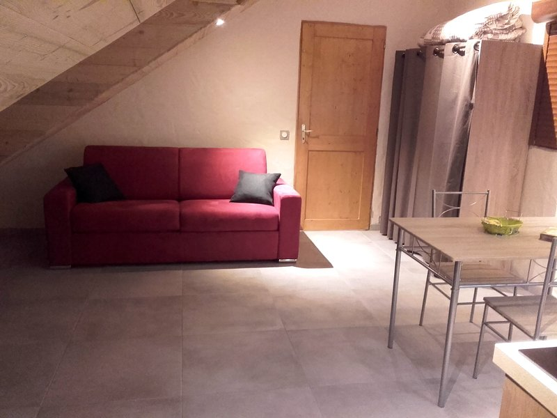 Nice studio with mountain view, holiday rental in Saint Jean d'Arves