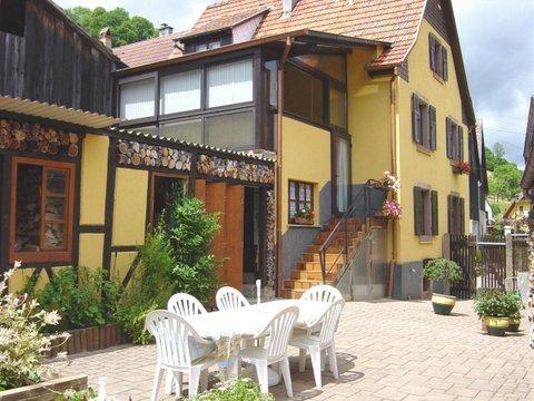 Nice apartment with mountain view, alquiler vacacional en Breitenbach