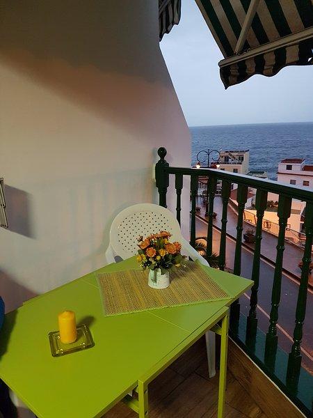 Nice apartment with sea view & Wifi, alquiler de vacaciones en Santiago del Teide