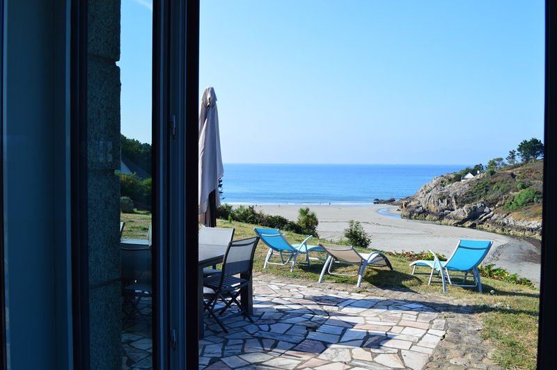 Amazing house with sea view, holiday rental in Nevez