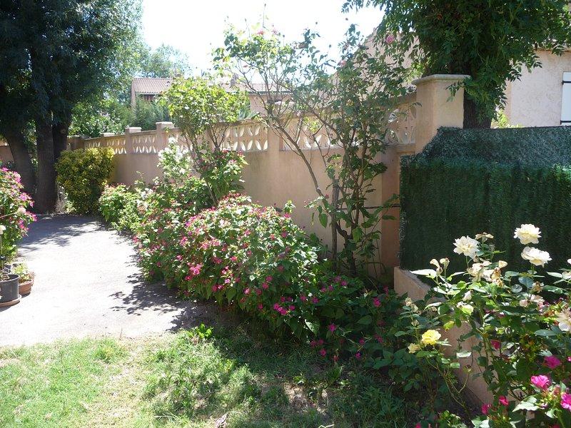 Beautiful property with garden, holiday rental in Vidauban