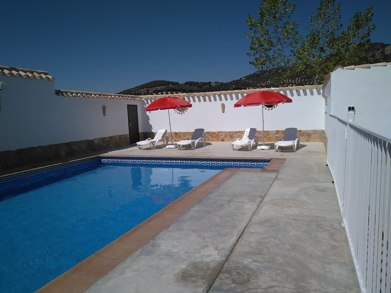 Amazing house with swimming-pool, holiday rental in Rute