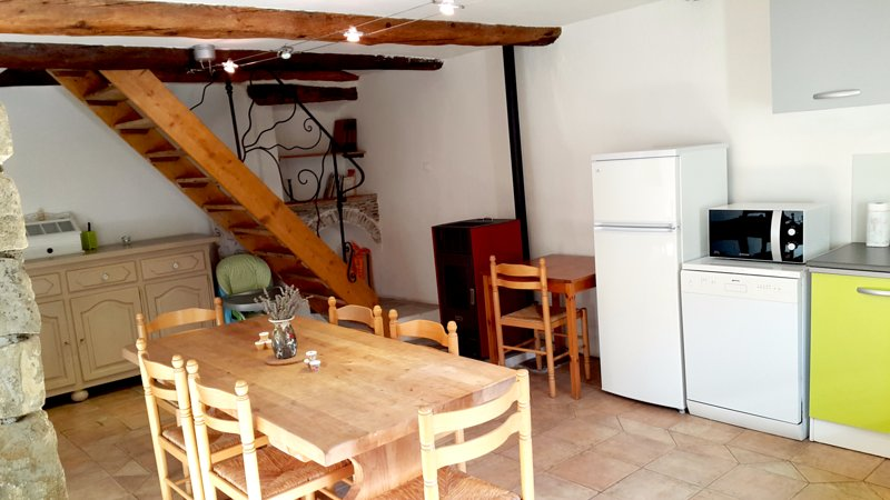 Spacious house with mountain view, holiday rental in La Foux