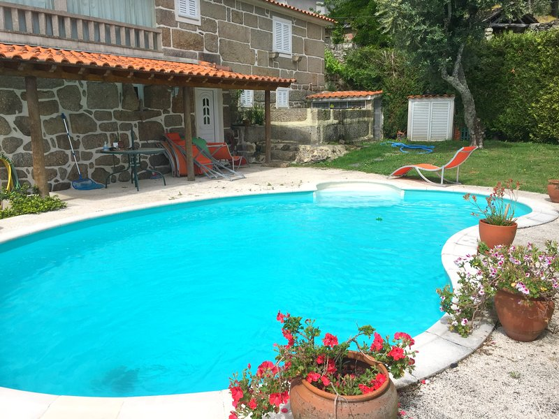 Amazing villa with swimming-pool, vacation rental in Entre-os-Rios