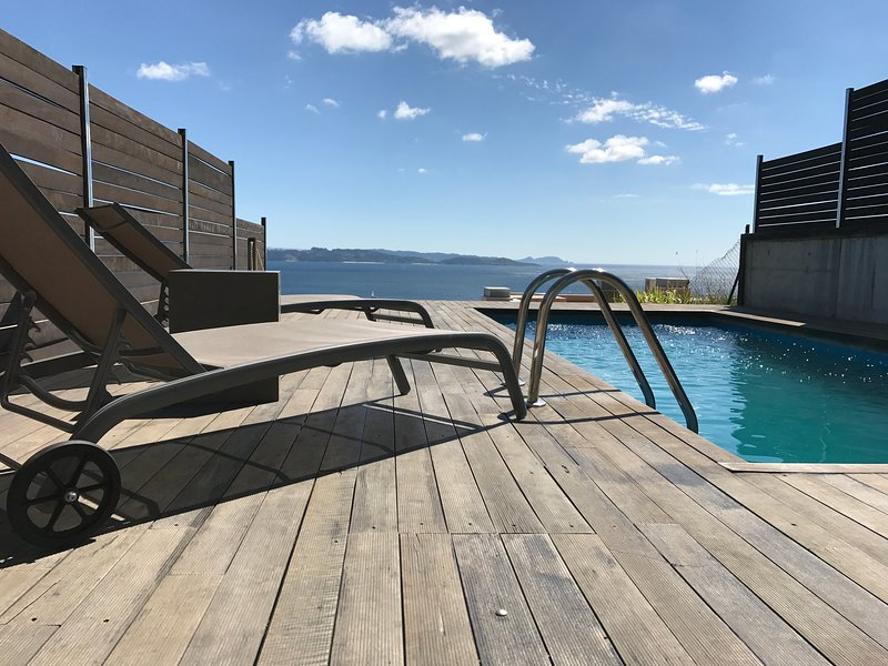 Spacious villa with swimming-pool, vacation rental in Sanxenxo
