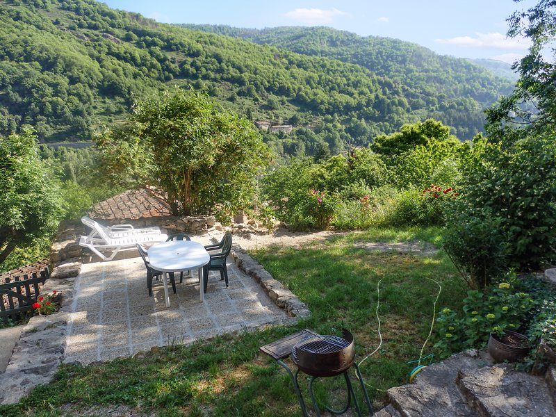 Beautiful apartment with terrace, holiday rental in Burzet