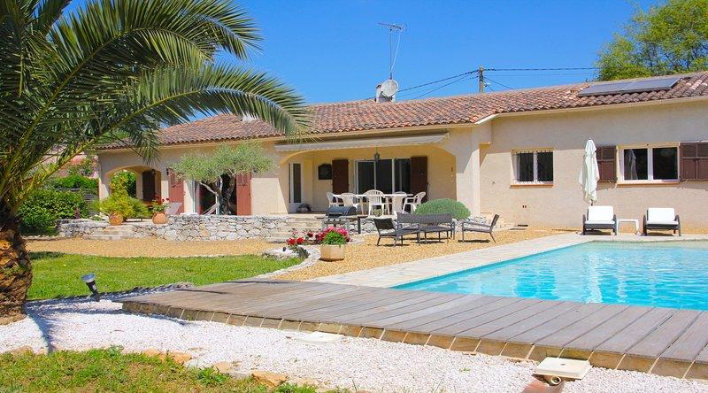 Villa con piscina ext