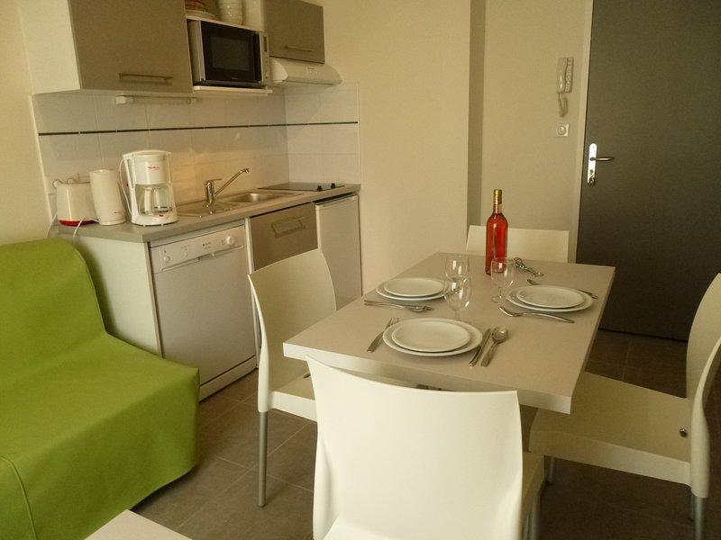Nice apartment in Vieux Boucau, aluguéis de temporada em Vieux-Boucau-les-Bains