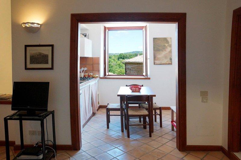 Apartment in Barbarano Romano, vakantiewoning in Cura di Vetralla