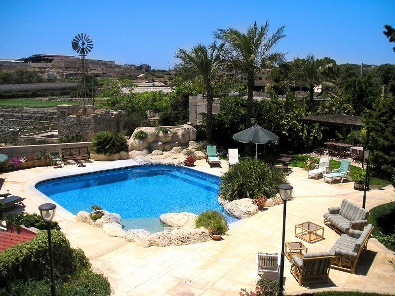 Le jardin / piscine Zone