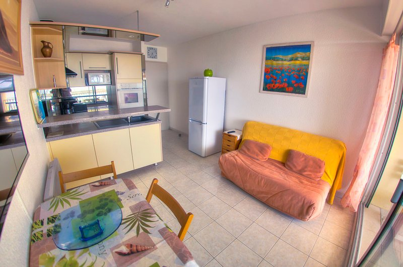 Beautiful apartment with sea view, holiday rental in Palavas-les-Flots